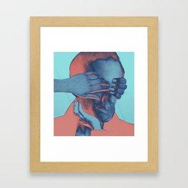 peacefull mind Framed Art Print