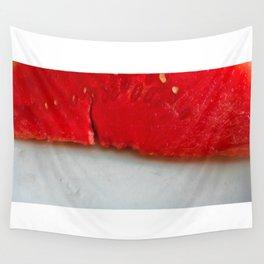 Sandía (rojo y blanco) Wall Tapestry