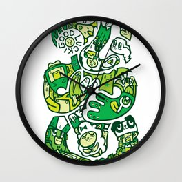 TIKI  Wall Clock