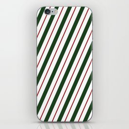 Peppermint Candy Cane iPhone Skin
