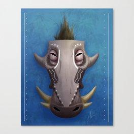 Spirit of the Warthog Canvas Print