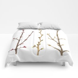 Familiar Branches Comforters
