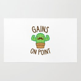 Gains On Point (Cactus Pun) Rug