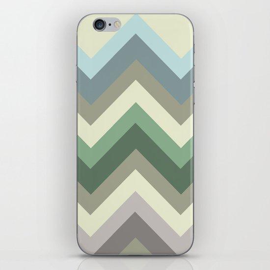 pastel chevron iPhone & iPod Skin