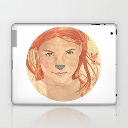The fox girl Laptop & iPad Skin