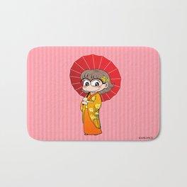 Eva in Kimono Bath Mat