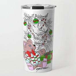 Teddy Christmas Travel Mug
