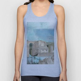Faded fantasies of a neglected mind Unisex Tank Top