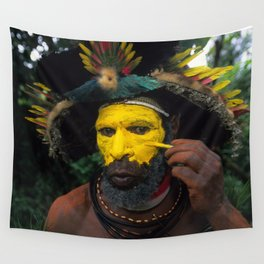 Papua New Guinea Adventure Wall Tapestry
