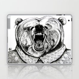 He was like a bear! Laptop & iPad Skin