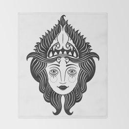She Devil Throw Blanket