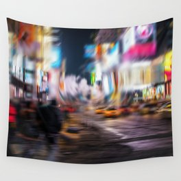 Times square NY Wall Tapestry