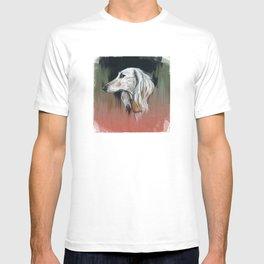 Saluki I - Illustrious dogs. T-shirt