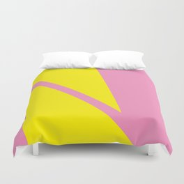 Pink Angles Duvet Cover