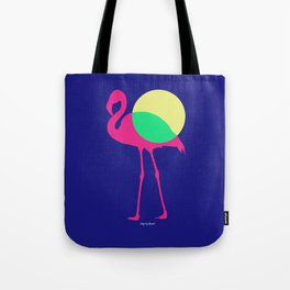 FLAMINGO POP Tote Bag