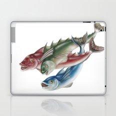 INKYFISH - Fish friends Laptop & iPad Skin