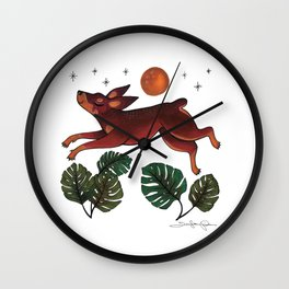 All Dogs Go To Heaven Wall Clock