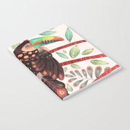 Toucan In A Fruit Tree Notebook