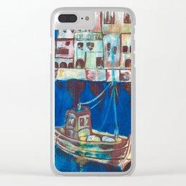 Fishing village harper Clear iPhone Case