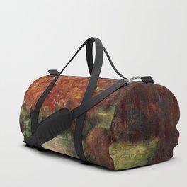 Georges Seurat - Vase of Flowers Duffle Bag