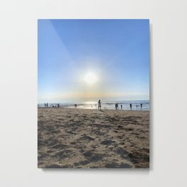 Silence in French Riviera Metal Print