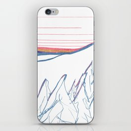 Alaska Winter Solstice iPhone Skin