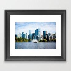 Glass City  Framed Art Print