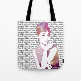 My Audrey Tote Bag