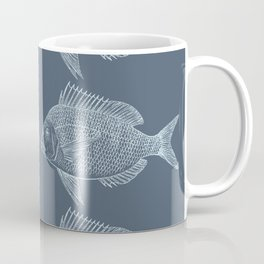 Blue Fish/es Coffee Mug