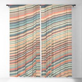 Calm Summer Sea Sheer Curtain