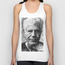 Anthony Bourdain Unisex Tank Top