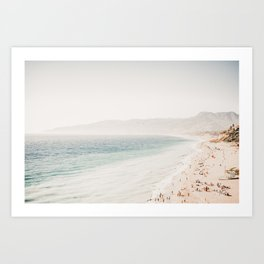Santa Monica View Art Print