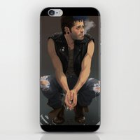 punk iPhone & iPod Skins featuring Punk by Pat-a-tat