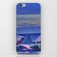 milwaukee iPhone & iPod Skins featuring Milwaukee Art Museum by Alaina Abplanalp