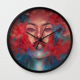 Rose essence Wall Clock