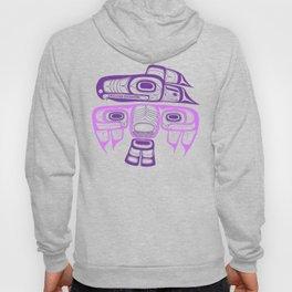 Tlingit thunderbird purple Hoody