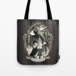Portrait: Headless Horseman (Sleepy Hollow) Tote Bag