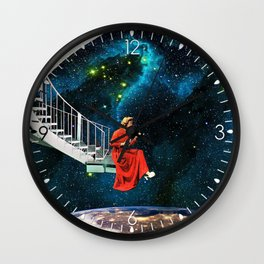 Nail-Biting Edge Wall Clock