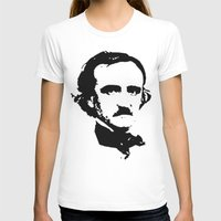 edgar allan poe T-shirts featuring edgar allan poe by b & c