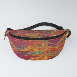 Wave Of Colors 2 Fanny Pack
