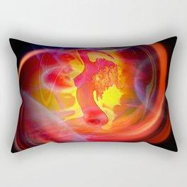Atrium Abstract - Perfection Wellness Rectangular Pillow