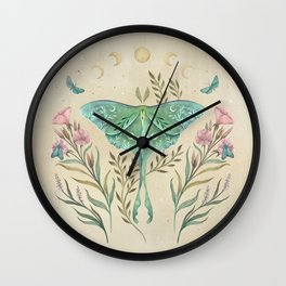 Luna and Forester - Oriental Vintage Wall Clock