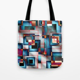 Abstract Square 8 Tote Bag