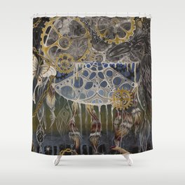 Divine Time Shower Curtain