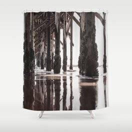 chasing you Shower Curtain