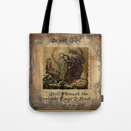 Sulamith Wulfing - Sweet Girl Lyrics Inspired by Stevie Nicks Tote Bag