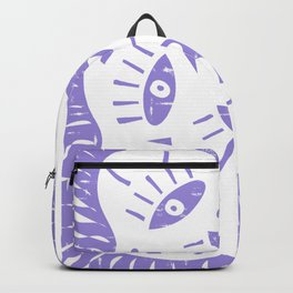 mysterious summer in lavender Backpack