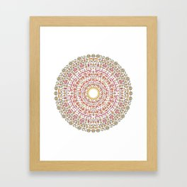 The Source of Everything. Framed Art Print