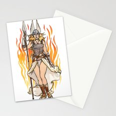 Brunhilde Pin-up Stationery Cards