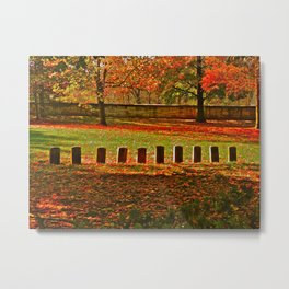 """""""Unknown"""" Union Soldiers Metal Print"""